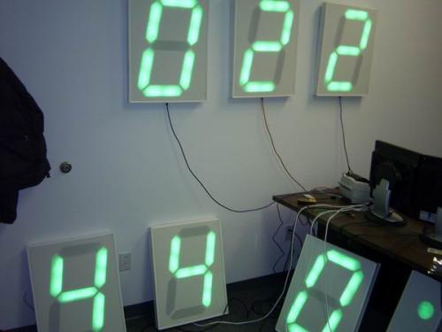 12ft Gps Wall Clock Sparkfun Electronics