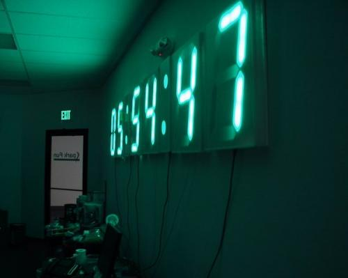 12ft Gps Wall Clock Sparkfun Electronics