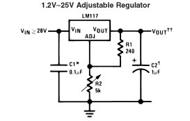 2SC5296 moreover How Do I Build The Current Regulator Circuit Referred To On The Lm337 Datasheet likewise Potentiometer Terminal Diagram in addition Lm386 Audio  lifier Circuit also Question About Lm317. on datasheet of lm317