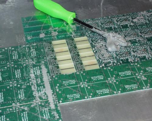 Solder Paste Stenciling - SparkFun Electronics