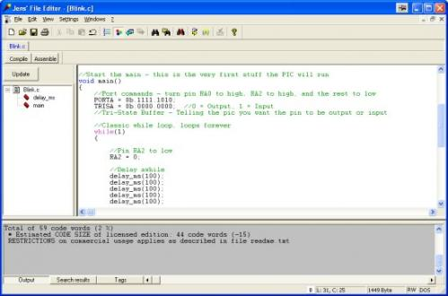cc5x compiler