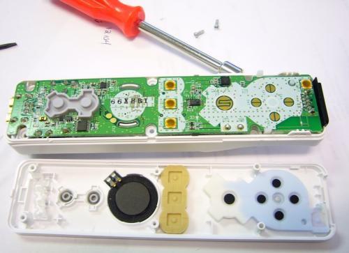 Wii Mote Guts Sparkfun Electronics