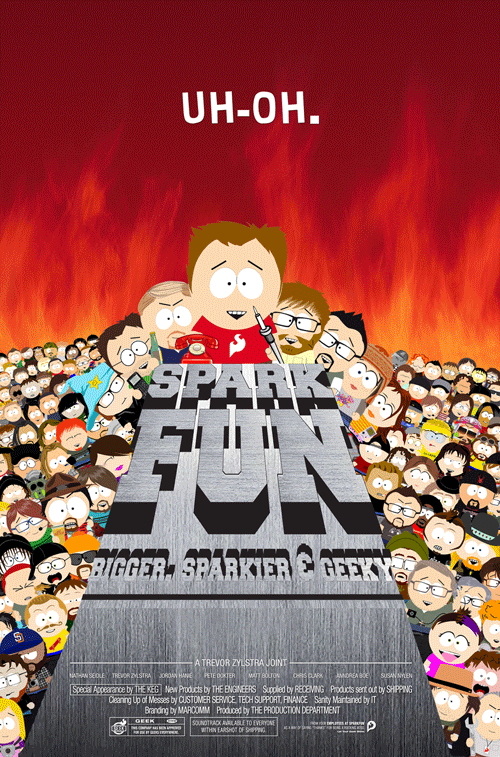 Sparkfun Poster News Sparkfun Electronics