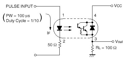 PS2532 Example optoisolator 4 channel com 00784 sparkfun electronics opto isolator wiring diagram at bakdesigns.co