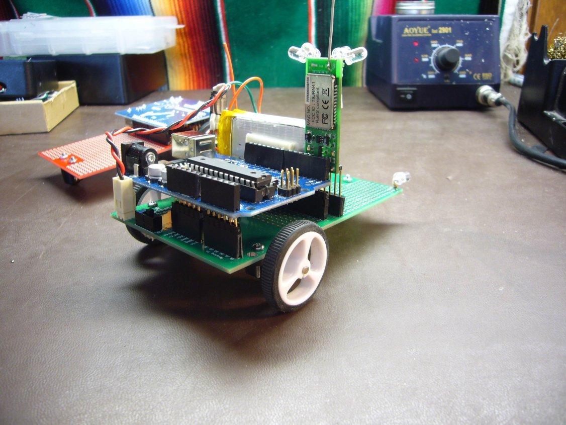 Sparkfun robot tutorial