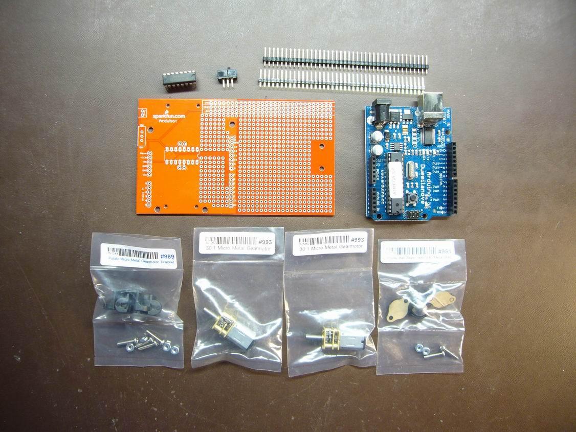 Build An Ardubot Sparkfun Electronics Circuit Bent Toys Flickr Photo Sharing Buildabot