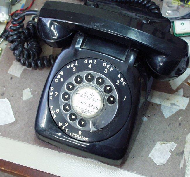 Rotary cellular phone